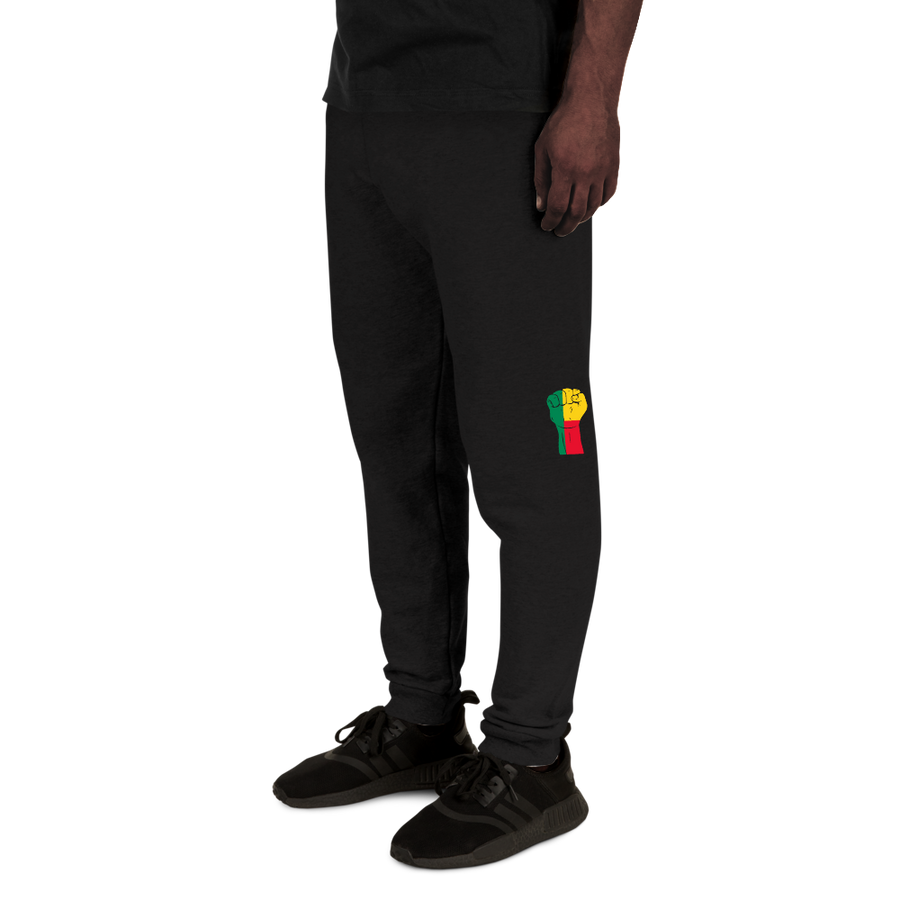 RAISED FIST 'BENIN' — Men's Sweatpants