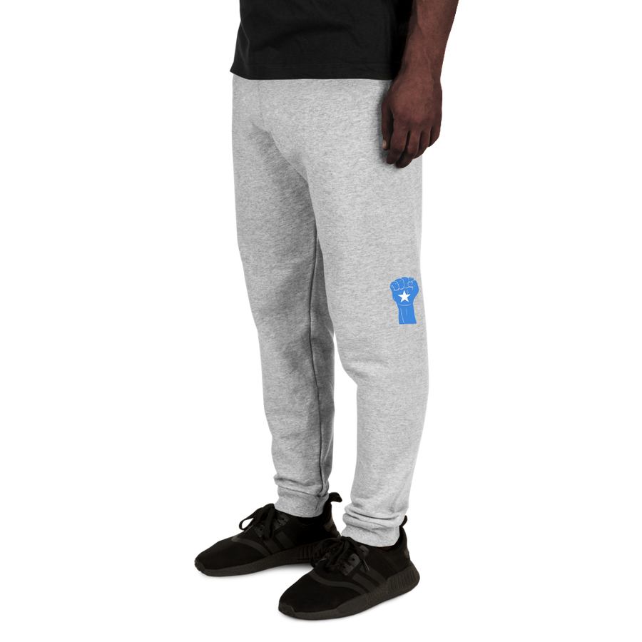 RAISED FIST 'SOMALIA' — Men's Sweatpants