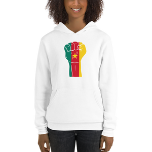 RAISED FIST 'CAMEROON' — Women's Pullover Hoodie