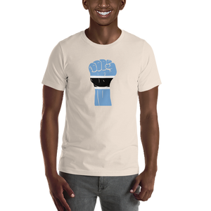 RAISED FIST 'BOTSWANA' — Men's Premium T-shirt