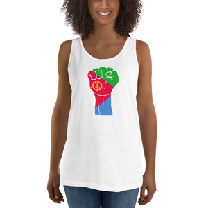 RAISED FIST 'ERITREA' — Women's Premium Tank Top