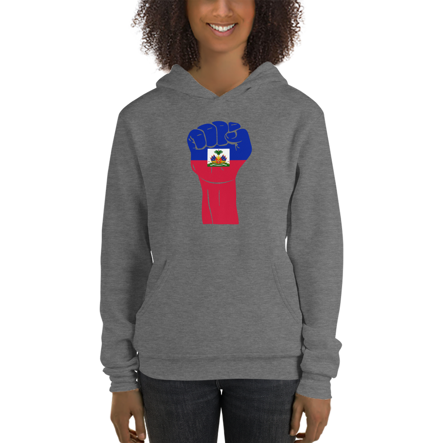 RAISED FIST 'HAITI' — Women's Pullover Hoodie