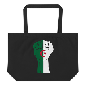 RAISED FIST 'ALGERIA' — Organic Tote Bag