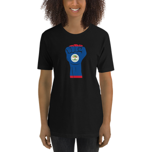 RAISED FIST 'BELIZE' — Women's Premium T-shirt