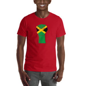 RAISED FIST 'JAMAICA' — Men's Premium T-shirt