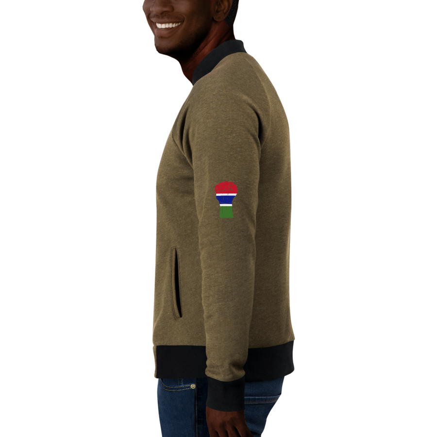 RAISED FIST 'THE GAMBIA' — Men's Bomber Jacket