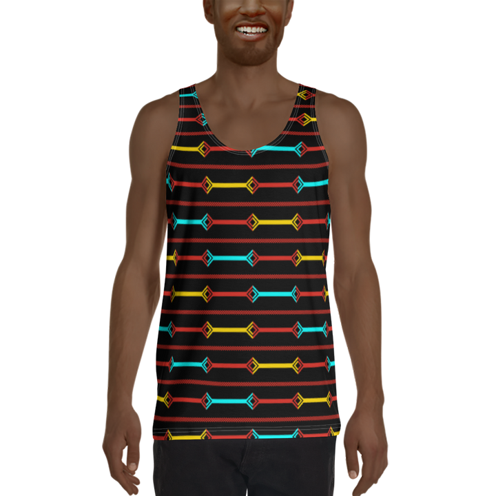 DOGON — Hand-sewn Men's Tank Top
