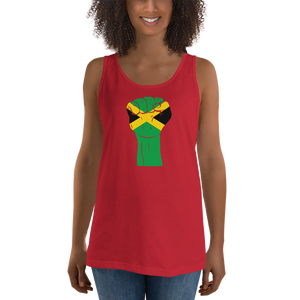 RAISED FIST 'JAMAICA' — Women's Premium Tank Top