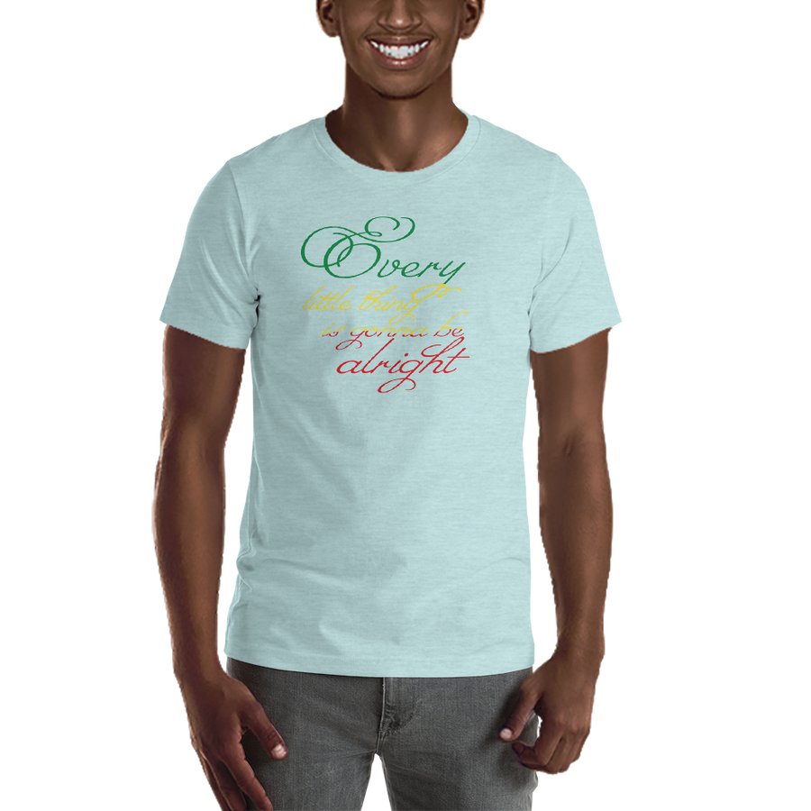 EVERY LITTLE THING (RASTA) — Men's Premium T-shirt