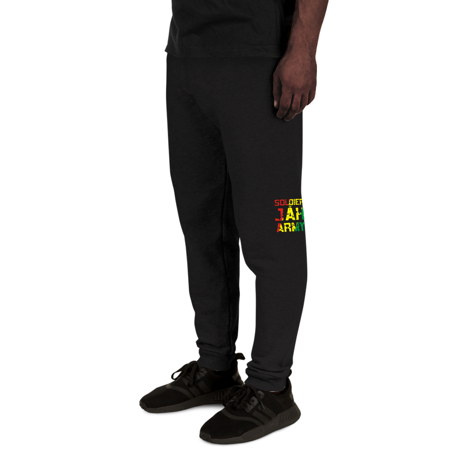 SOLDIER OF JAH ARMY (RASTA) — Men's Sweatpants