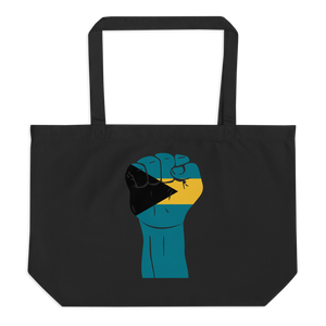 RAISED FIST 'BAHAMAS' — Organic Tote Bag