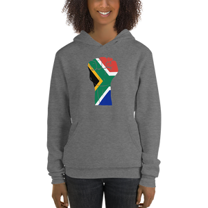 RAISED FIST 'SOUTH AFRICA' — Women's Pullover Hoodie