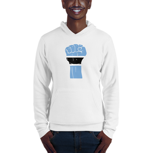 RAISED FIST 'BOTSWANA' — Men's Pullover Hoodie