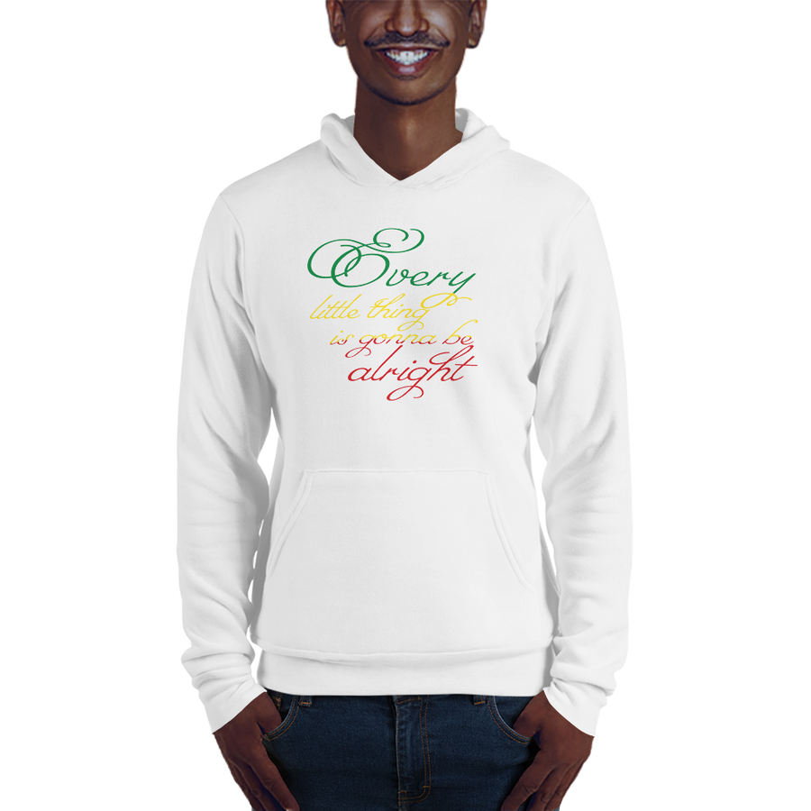 EVERY LITTLE THING (RASTA) — Men's Pullover Hoodie