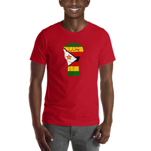 RAISED FIST 'ZIMBABWE' — Men's Premium T-shirt