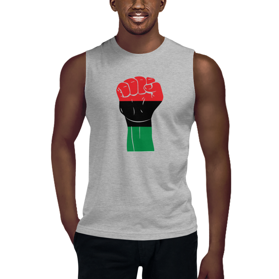 RAISED FIST 'UNIA' — Men's Muscle Shirt