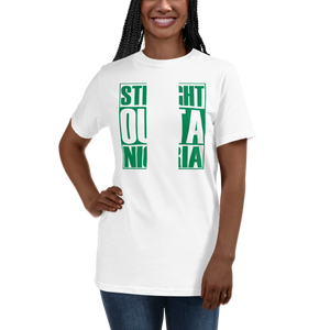 STRAIGHT OUTTA NIGERIA — Women's Organic T-shirt