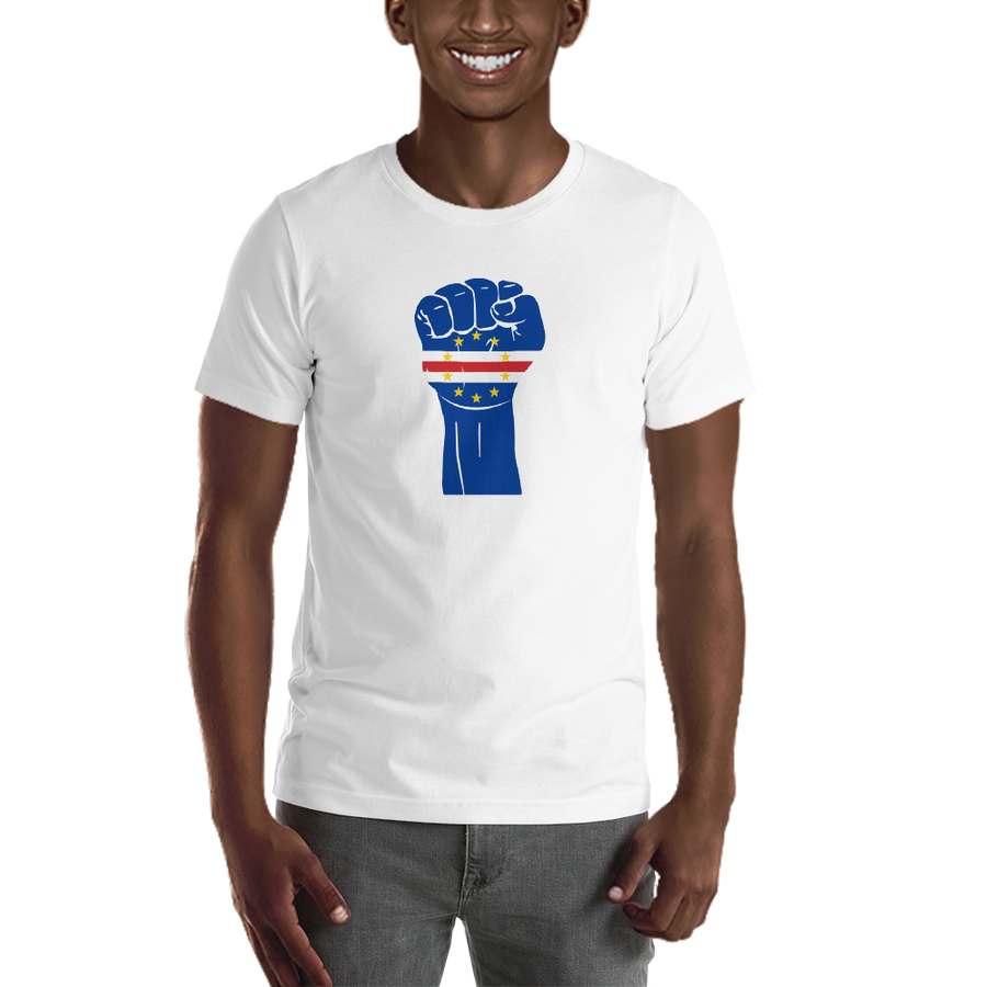 RAISED FIST 'CABO VERDE' — Men's Premium T-shirt