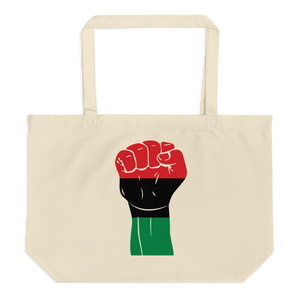 RAISED FIST 'UNIA' — Organic Tote Bag