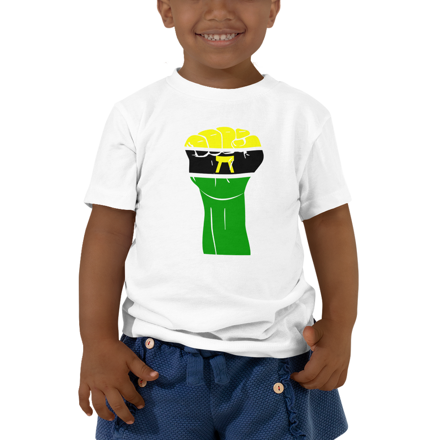 RAISED FIST 'ASHANTI' — Short-sleeved Toddler T-shirt
