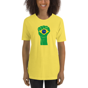 RAISED FIST 'BRAZIL' — Women's Premium T-shirt
