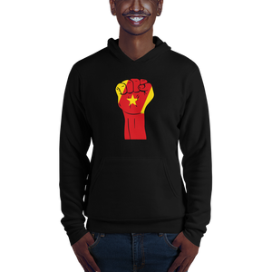 RAISED FIST 'AMHARA' — Men's Pullover Hoodie
