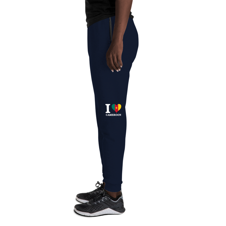 I ❤ CAMEROON (WHITE) — Women's Sweatpants