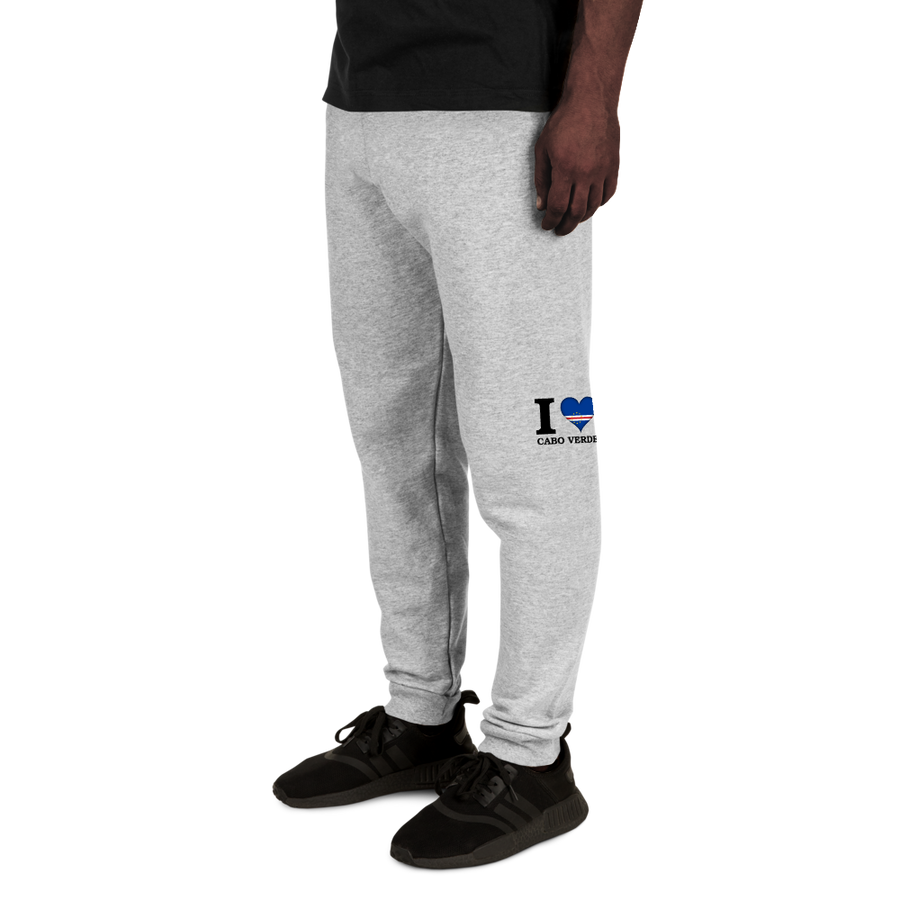 I ❤ CABO VERDE (BLACK) — Men's Sweatpants