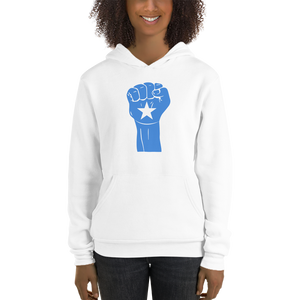 RAISED FIST 'SOMALIA' — Women's Pullover Hoodie