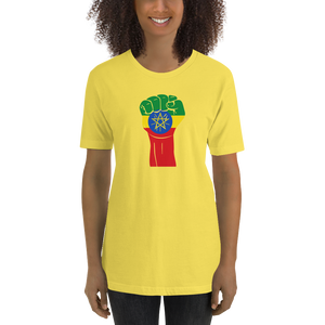 RAISED FIST 'ETHIOPIA' — Women's Premium T-shirt