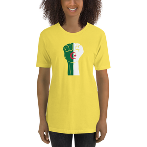 RAISED FIST 'ALGERIA' — Women's Premium T-shirt