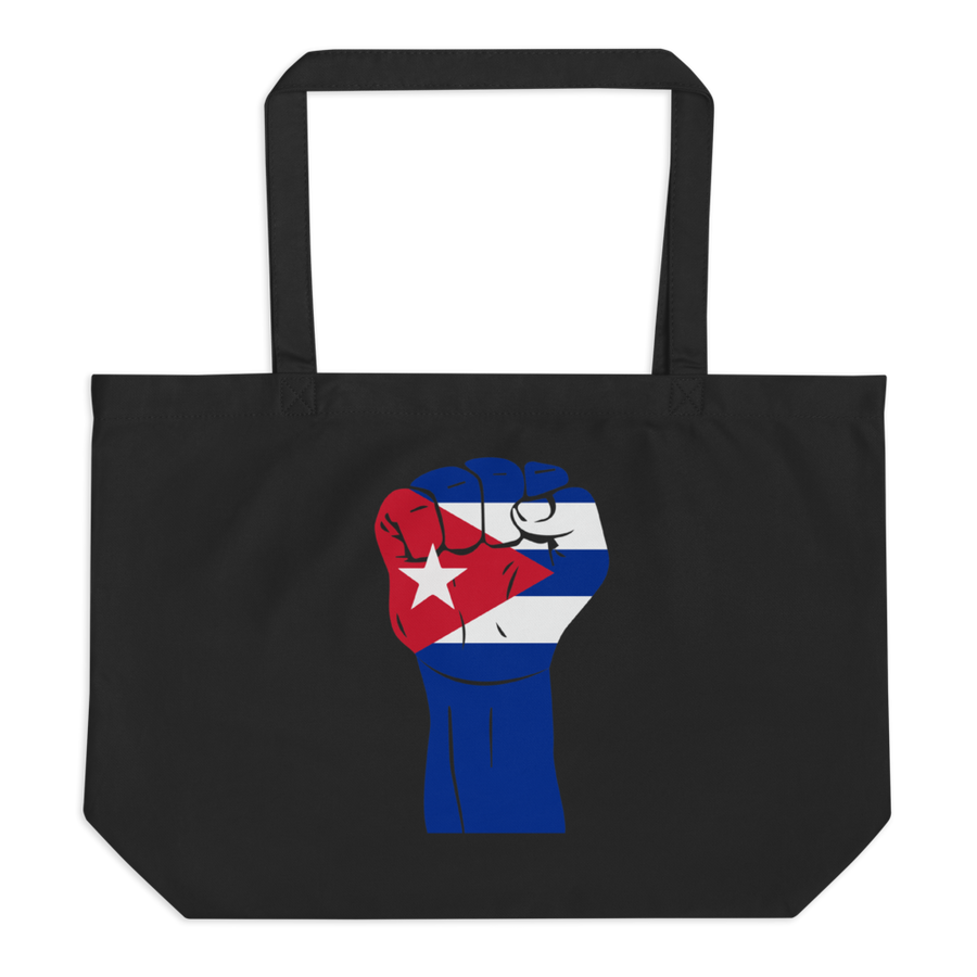 RAISED FIST 'CUBA' — Organic Tote Bag
