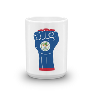 RAISED FIST 'BELIZE' — Coffee Mug