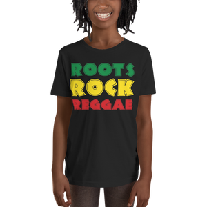 ROOTS ROCK REGGAE (RASTA) — Short-sleeved Youth T-shirt