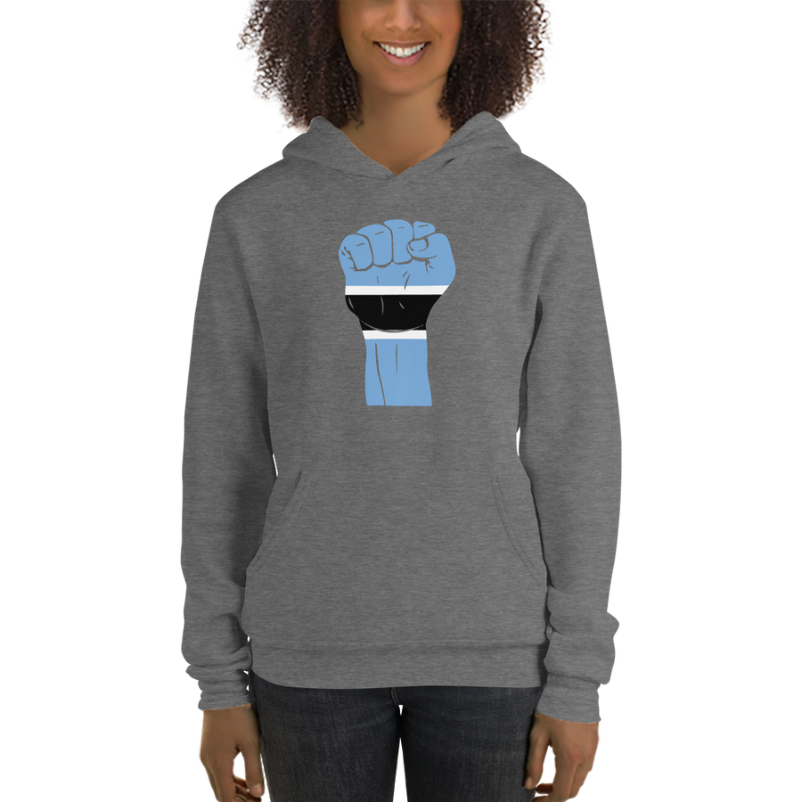 RAISED FIST 'BOTSWANA' — Women's Pullover Hoodie