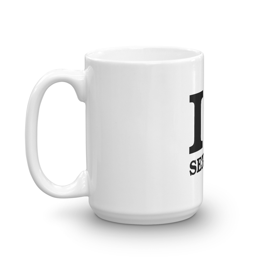 I ❤ SENEGAL (BLACK) — Coffee Mug