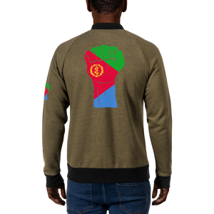 RAISED FIST 'ERITREA' — Men's Bomber Jacket