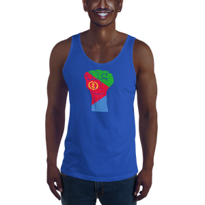 RAISED FIST 'ERITREA' — Men's Premium Tank Top