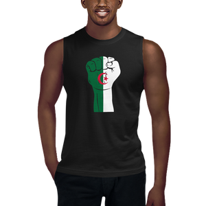 RAISED FIST 'ALGERIA' — Men's Muscle Shirt