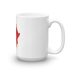 RAISED FIST 'AFRICA' (BLACK/RASTA) — Coffee Mug