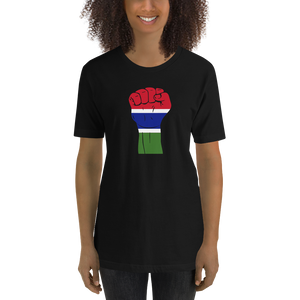 RAISED FIST 'THE GAMBIA' — Women's Premium T-shirt