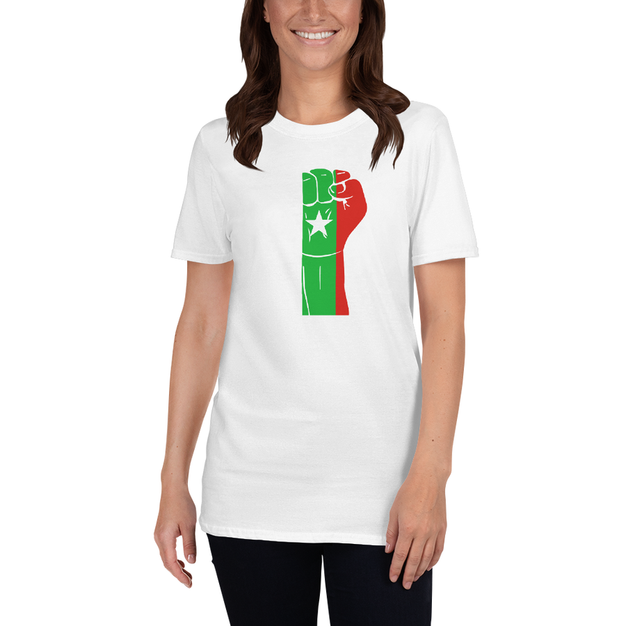 RAISED FIST 'CASAMANCE' — Women's T-shirt