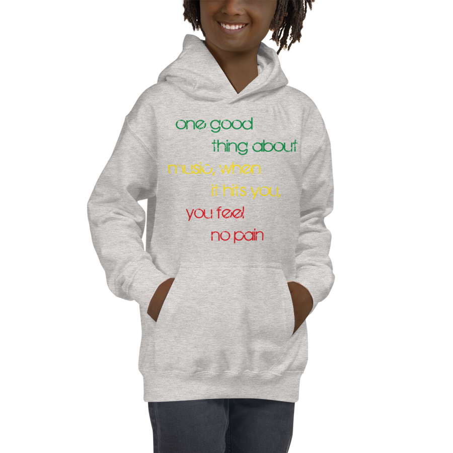 ONE GOOD THING (RASTA) — Children's Hoodie