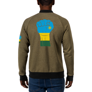 RAISED FIST 'RWANDA' — Men's Bomber Jacket