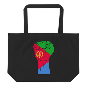 RAISED FIST 'ERITREA' — Organic Tote Bag