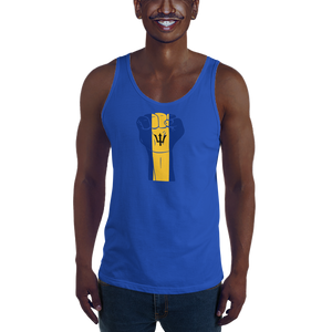 RAISED FIST 'BARBADOS' — Men's Premium Tank Top