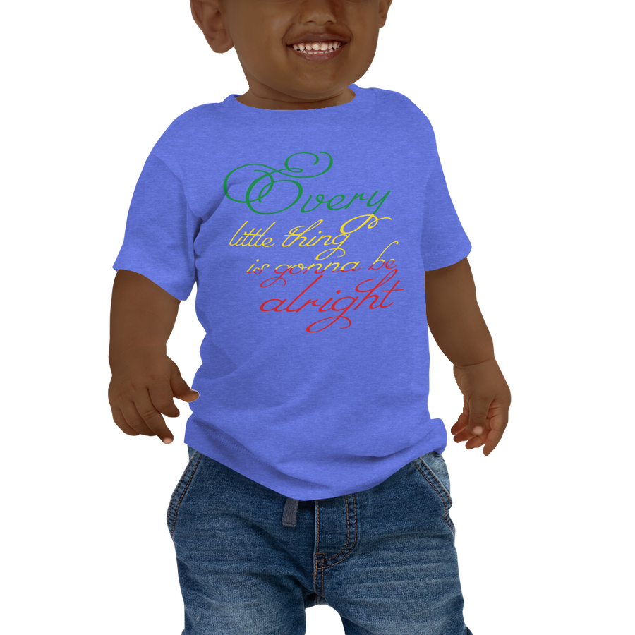EVERY LITTLE THING (RASTA) — Short-sleeved Baby T-shirt