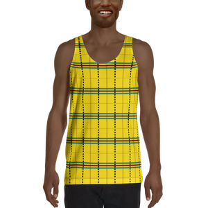 ASA-OKE (YELLOW) — Hand-sewn Men's Tank Top