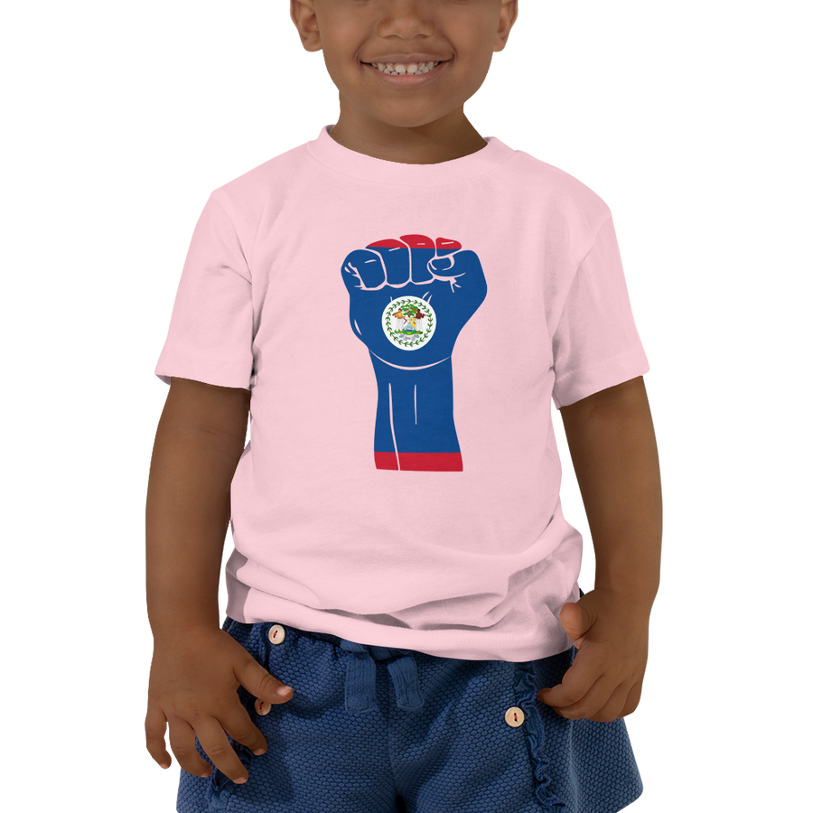 RAISED FIST 'BELIZE' — Short-sleeved Toddler T-shirt