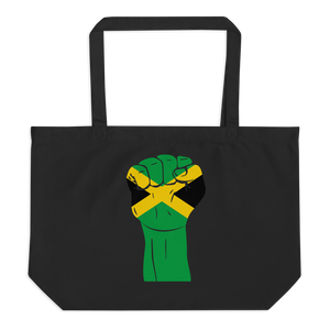 RAISED FIST 'JAMAICA' — Organic Tote Bag